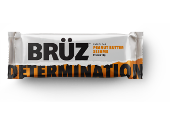 Bruz Peanut Butter With Sesame Bar