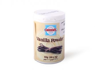 Green's Vanilla Powder