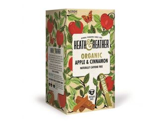 Heath & Heather Organic Apple & Cinnamon Tea