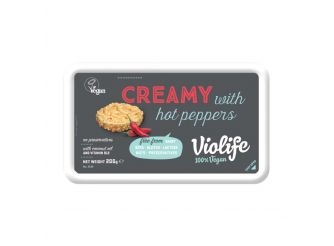 Violife Vegan Cream Cheese with Hot Peppers