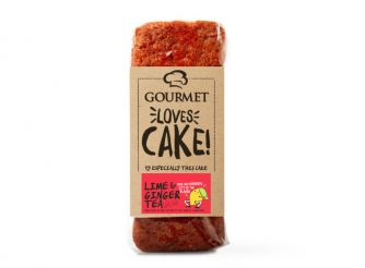 Gourmet Loves Cake Lime & Ginger Tea Cake