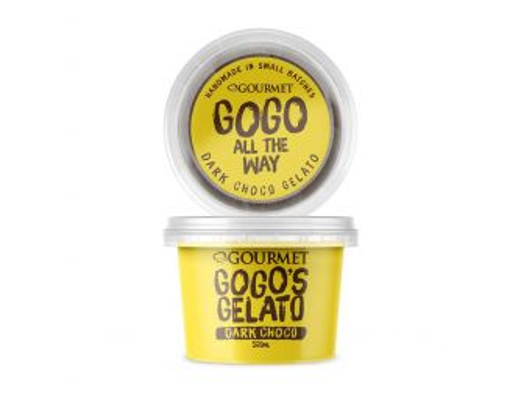 GOGO's GELATO Dark Chocolate