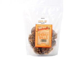 Baked All Natural Gluten Free Cocoa-Nut Energy Balls