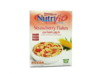Temmy's NutriFit Corn Flakes with Strawberry