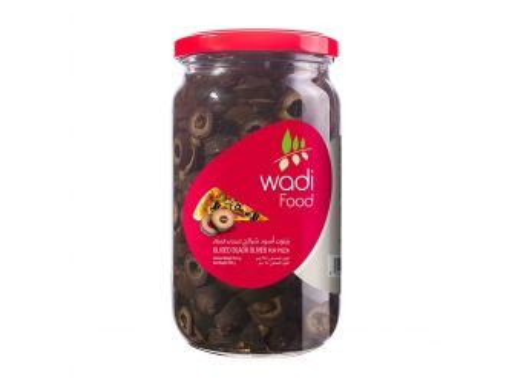 Wadi Food Sliced Black Olives