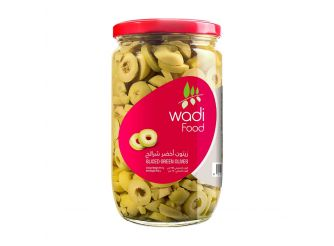 Wadi Food Sliced Green Olives
