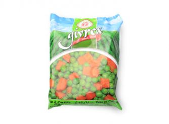 Givrex Frozen Peas With Carrots