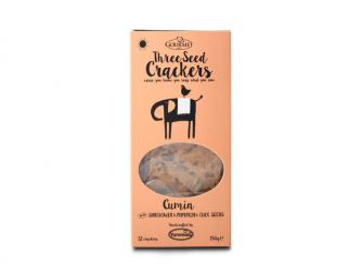 Gourmet 3 Seed Cumin Crackers