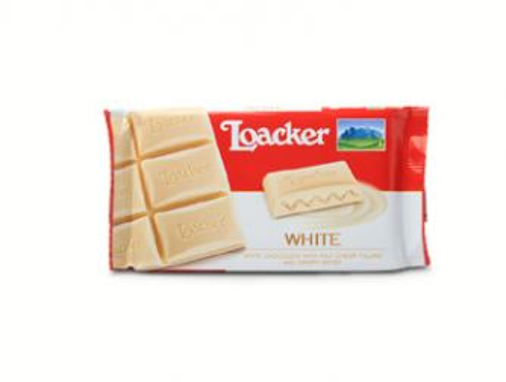 Loacker White Chocolate Bar
