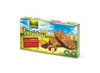 Gullon Vitalday Oats & Chocolate Biscuit