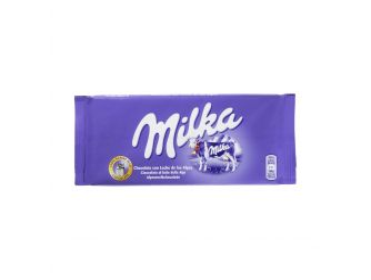 MilkaBubbly Alpine MilkChoc100