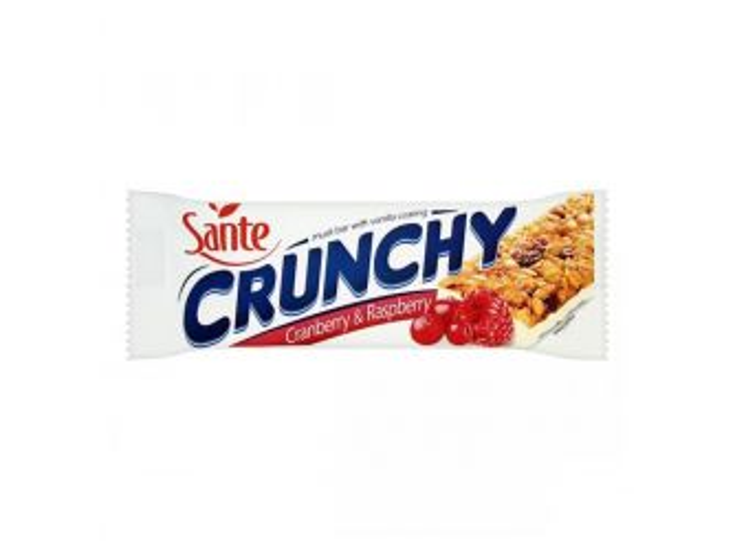 Sante Crunchy Cranberry & Raspberry Bar