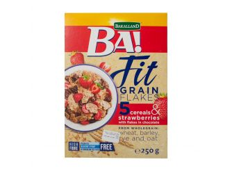 BA! Fit Grain Strawberry Cereal