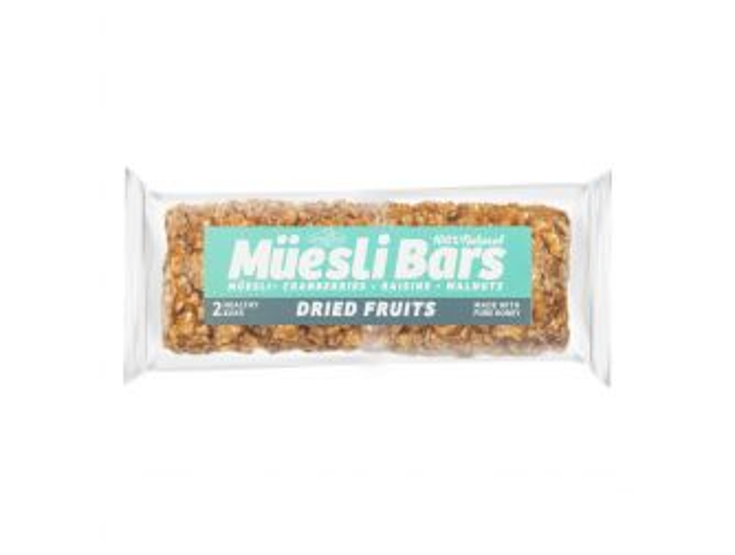 Gourmet Dried Fruit Muesli Bars