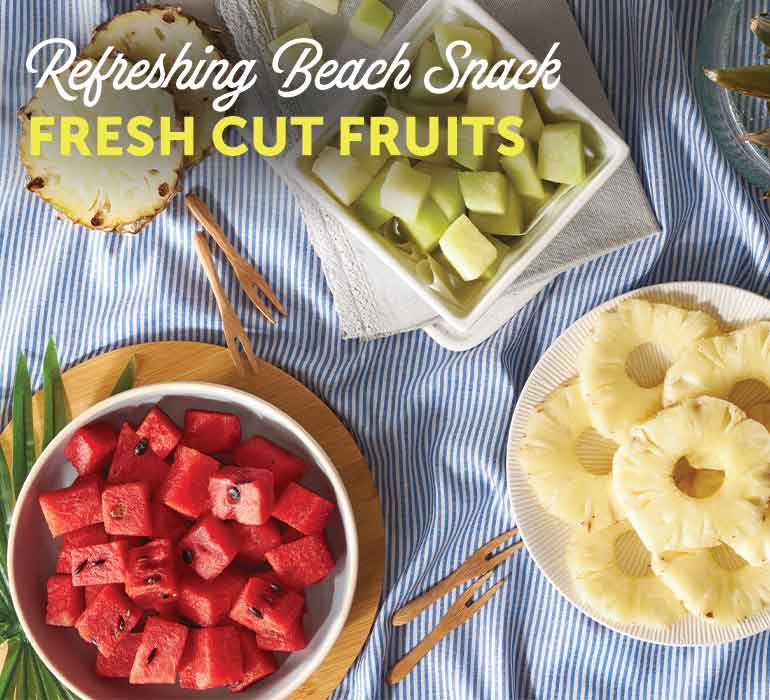Refreshing Beach Snacks