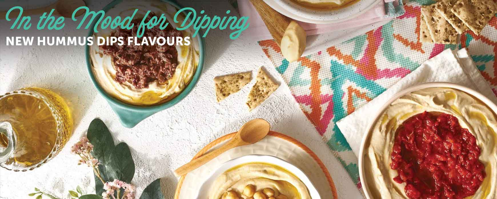 Handcrafted Dip It Range