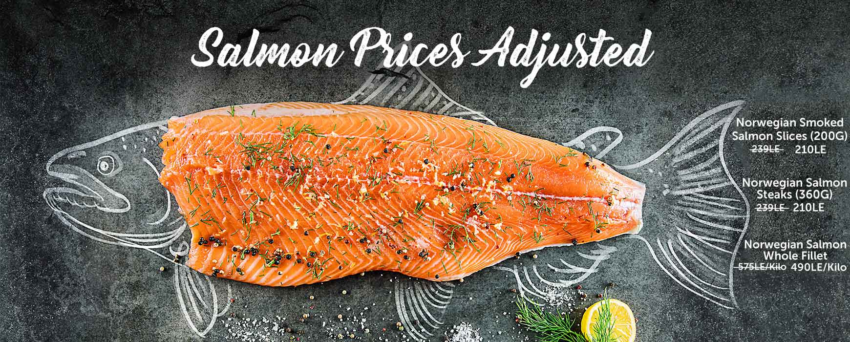 Salmon Adjusted Prices